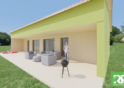 Conception & Construction d'une maison passive certifiée par le PHI à BERRE LES ALPES